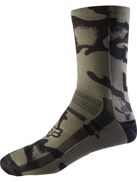 "Fox 8"" Print Trail Socks Men camo"